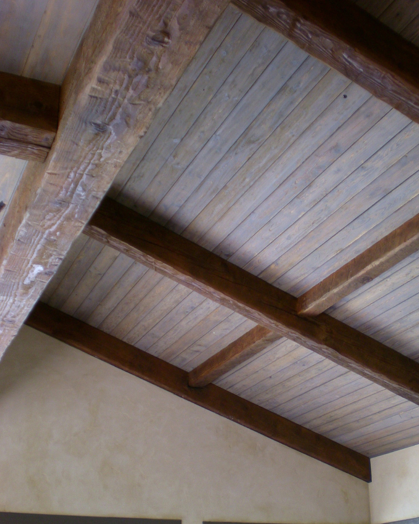 French armhouse Rustic Ceiling