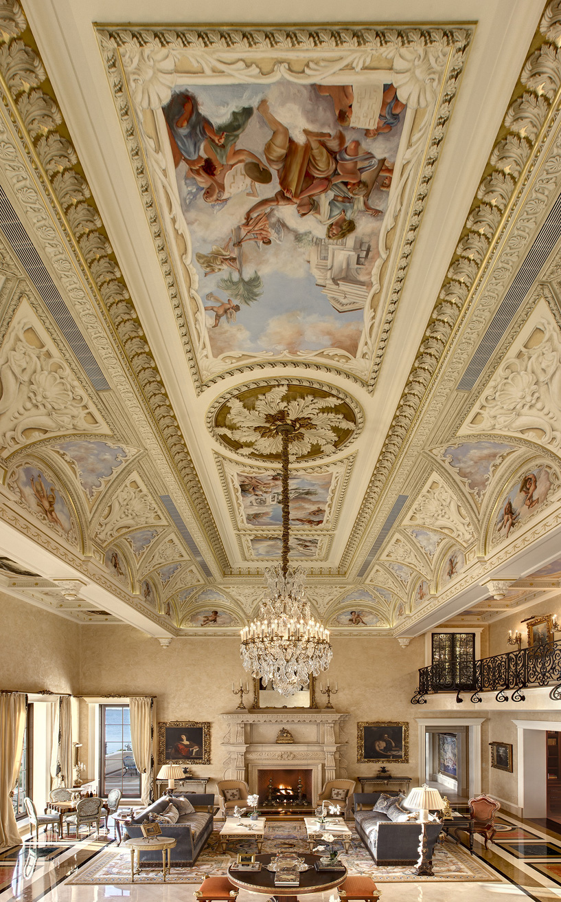 Hand Painted Ceiling Murals In Naples O 39 Guin Decorative
