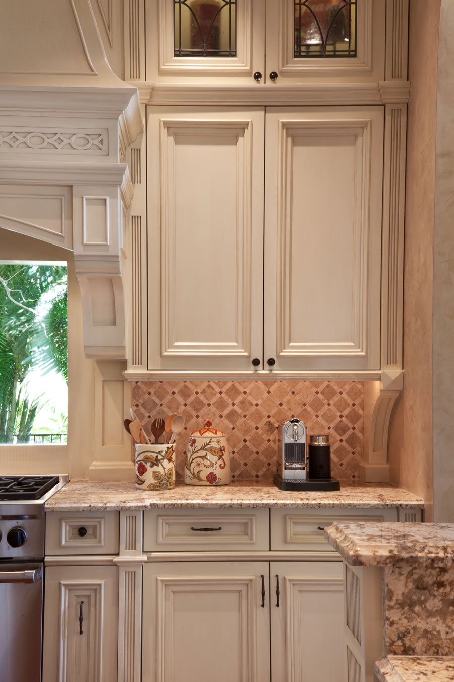 Kitchen Cabinet Faux FInish