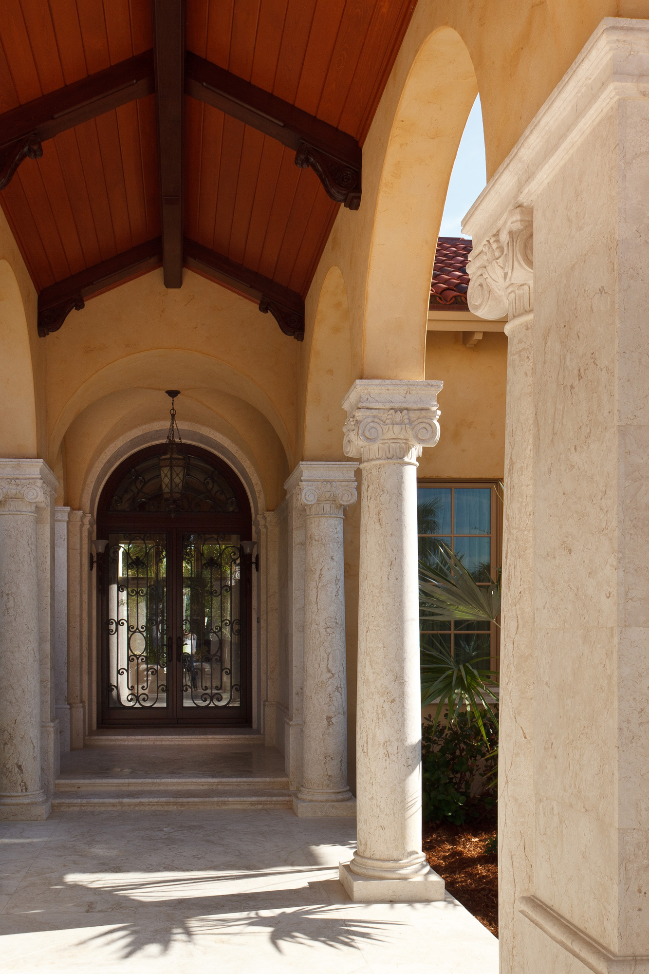 Custom exterior color and texture